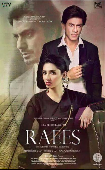 69d8da7d04 Shah Rukh Khan s Raees Movie look - Celebs Fans