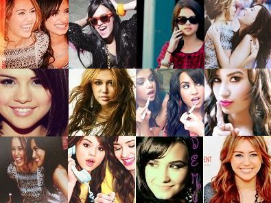 of celebrities Collage female