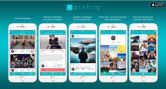 Pixhug App