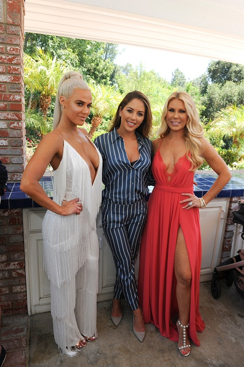 E! WWE Diva CJ Lana Perry, UFC Ring Girl of the Year Brittney Palmer & Bravo's RHOC Gretchen Rossi